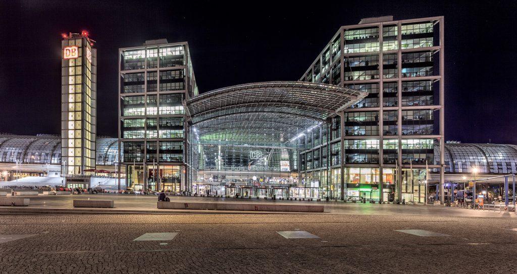 Foto des Berliner Hauptbahnhofs