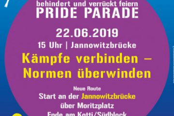 Pride Parade 2019 - Wir sind dabei