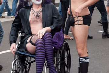 Folsom Street Fair Wheelchair
