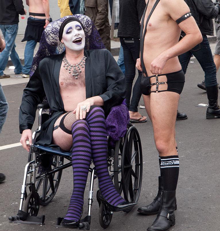 Folsom Street Fair Wheelchair