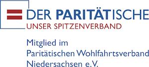 Logo - Paritätischer LV Niedersachsen mit Zusatz